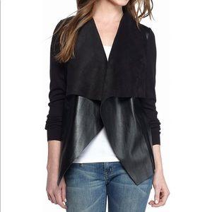MICHAEL Michael Kors Black Drape Sweater Jacket